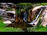 Cascada en Piedras Grandes en La Falda